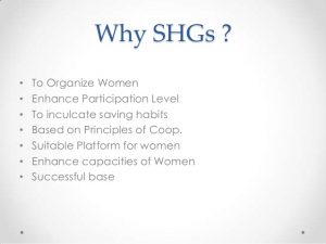 Self Help Groups Shgs And Civil Society In India Himachal Pradesh Pcs Free Notes